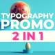 For Typography Promo
