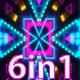 Neon Background Lights