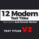 Text Titles V2
