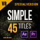 45 Gold Simple Titles (Special Edition)