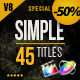 Gold Simple Titles (Special Version) for FCPX