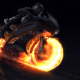 Motorcycle Fire Reveal
