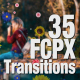 FCPX transition pack for Editors