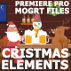 Cartoon Christmas Elements And Transitions