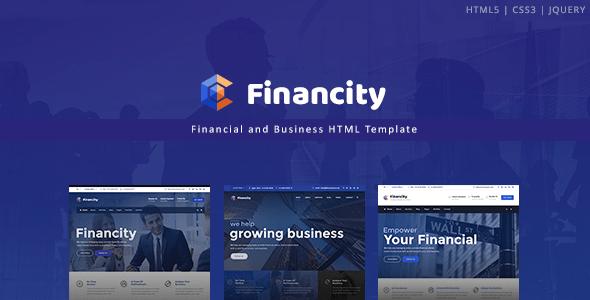 , Financity – Business / Financial / Finance HTML Template, Laravel & VueJs