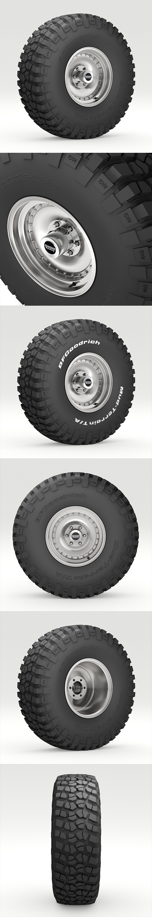 OFF ROAD WHEEL AND TIRE 6
