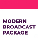 Modern Motion Broadcast Package