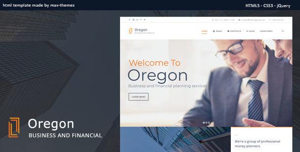 , Oregon – Finance HTML Template, Laravel & VueJs, Laravel & VueJs