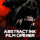 Abstract Ink Film Opener