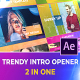 Trendy Intro Opener | After Effects