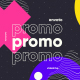 Colorful Typography Fashion Promo