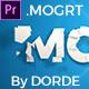 Short Elegant Title Reveal (Mogrt)