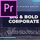 Big & Bold Corporate