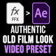Old Film Preset