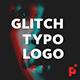 Glitch Typo Logo