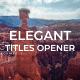 Elegant Titles Slideshow