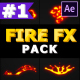 Doodle Fire FX Elements   After Effects