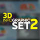 3D Infographics Set 2