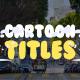 Cartoon Smoke Titles | Premiere Pro MOGRT