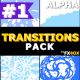 Hand Drawn Liquid Transitions   Motion Graphics Pack