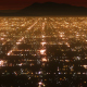 Flying Over City Lights