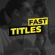 Simple Fast Titles I MOGRT
