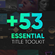 Essential Titles Toolkit