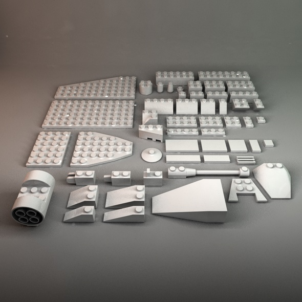 Assorted Lego Bricks