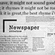 Newspaper Slideshow