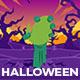 Halloween Cartoon Logo