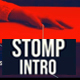 Actionable colorful stomp intro