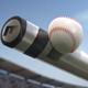 Baseball Logo On Bat