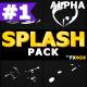 Cartoon Splash Elements | Motion Graphics Pack