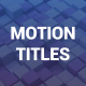 Clean Motion Titles