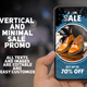 Vertical And Minimal Sale Promo