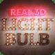 Real 3D Light Bulb Kit