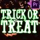 Halloween Cartoon Titles | Premiere Pro MoGRT