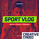 Sport Youtube Channel Opener / Event Promo / Fitness and Workout / Dynamic Typography