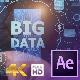 Businessman Open Hand Big Data