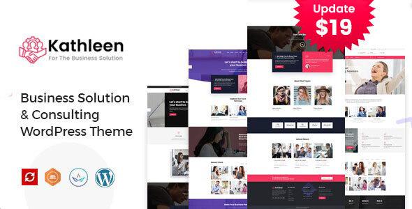 Kathleen - Business Consulting WordPress Theme