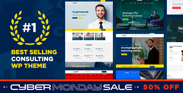 consulting Black Friday-Big Savings On ThemeForest All Items(50% Off)