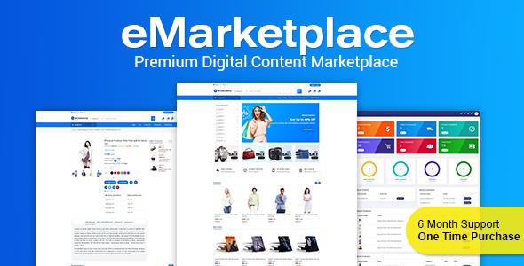 , eMarketplace – Premium Digital Content Marketplace, Laravel & VueJs, Laravel & VueJs