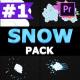 2D Cartoon Snow   Premiere Pro MOGRT