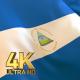 Nicaragua Flag - 4K