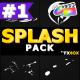 Cartoon Splash Elements | FCPX