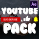 YouTube Subscribes Pack | After Effects