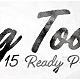 Handwriting Tool - Any Language or Font. 15 Presets.