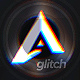 Minimal Photographer Glitch Logo Intro Reveal