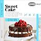 Elegant Cake Menu