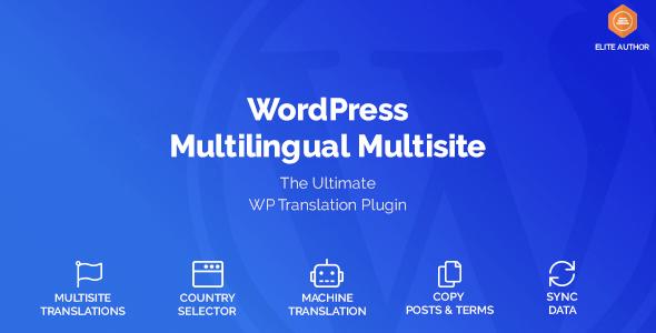 WordPress Multilingual Multisite